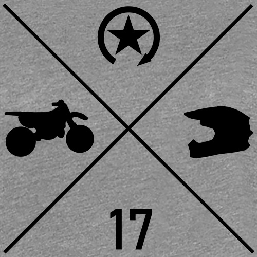 bike n helmet 17 - Women's Premium T-Shirt