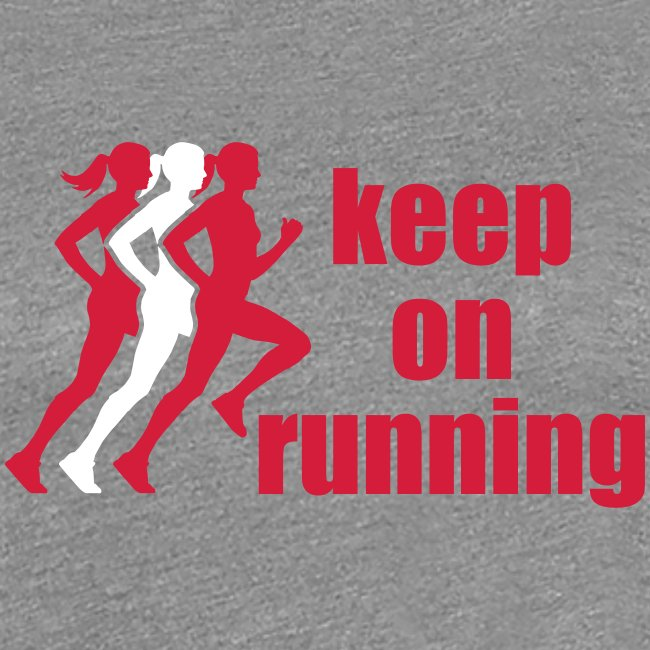 keep on running 3 women