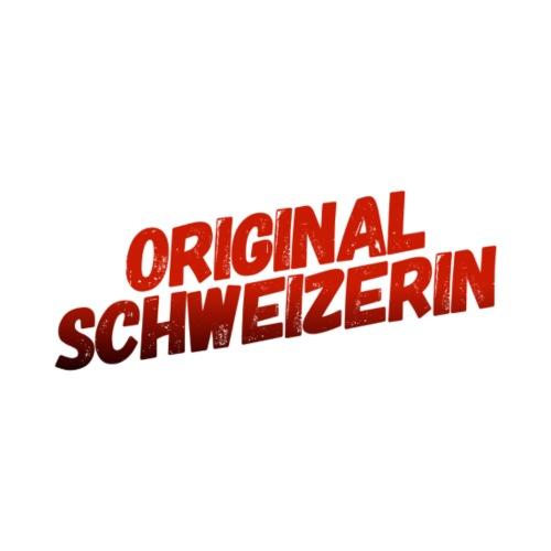 Original Schweizerin - Frauen Premium T-Shirt