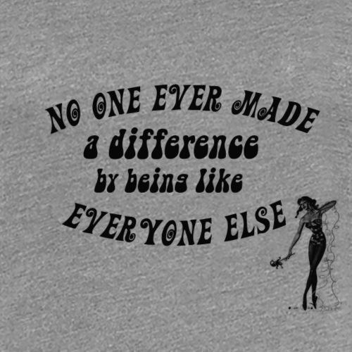 No one pin up danse - T-shirt Premium Femme