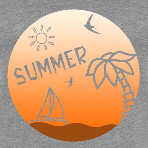 Summer - Naisten premium t-paita