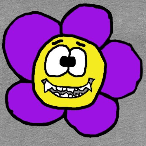 Blume mit Zähnen von roadtripgirl.ch - Frauen Premium T-Shirt