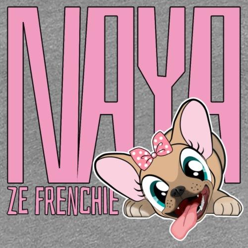 NAYA ZE FRENCHIE Logo - T-shirt Premium Femme