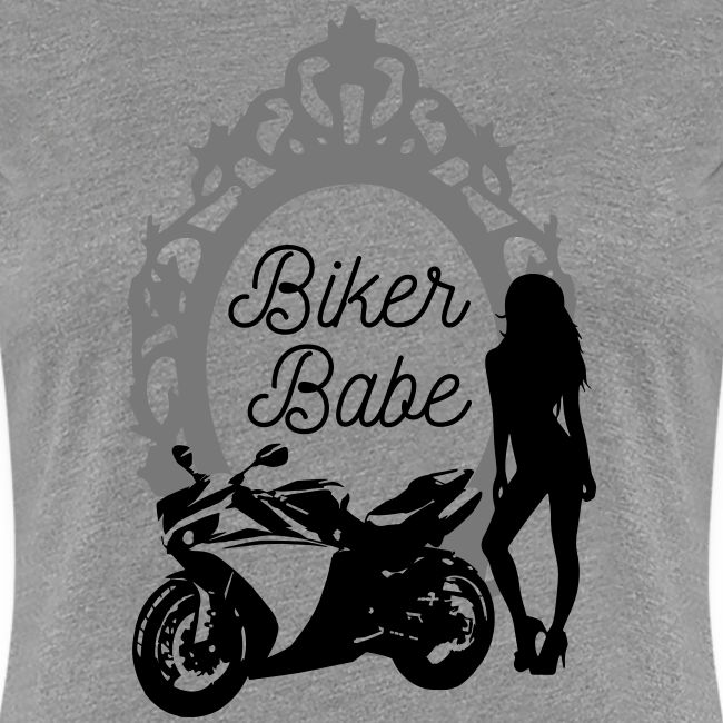Biker Babe – Racing bike