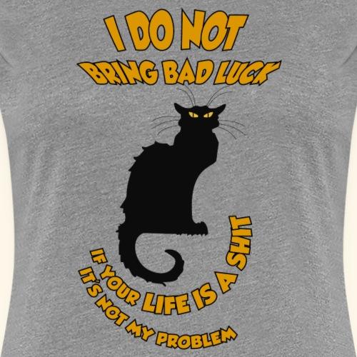 BAD LUCK - Camiseta premium mujer