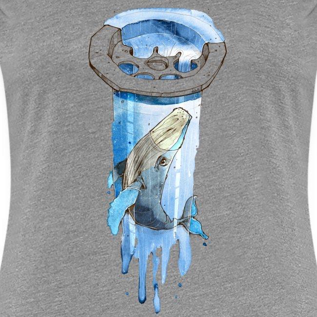 Wal im Abfluss (Whale in the Drain)