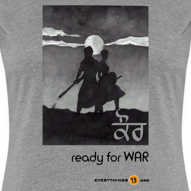 Kaur ready for WAR