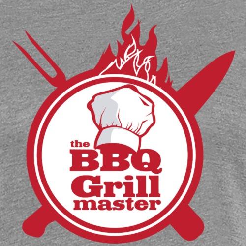 The BBQ Grill master - Dame premium T-shirt