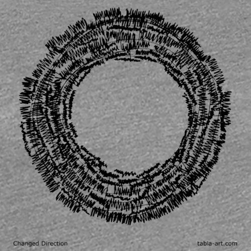Changed Direction tabla art - Women's Premium T-Shirt