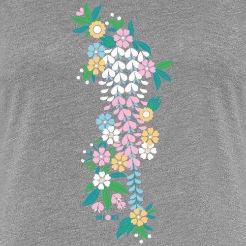 mioki cherry blossom2 - Frauen Premium T-Shirt