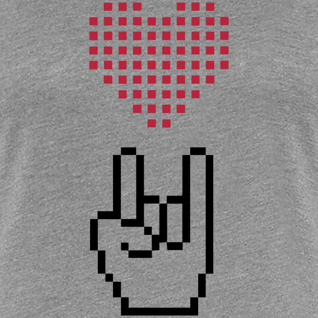 Pixel Love Rock