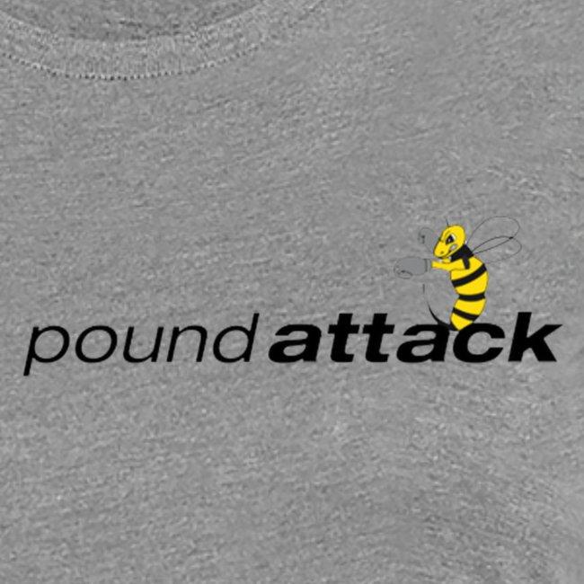logo poundattack freigestellt mit wespe groß png