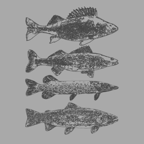 in the deep lake - Naisten premium t-paita