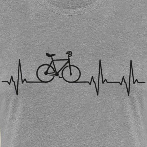 Kunstrad | Artistic Cycling | Heart Monitor Black - Frauen Premium T-Shirt