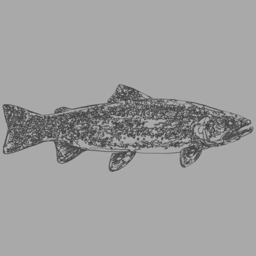 art trout.png - Naisten premium t-paita