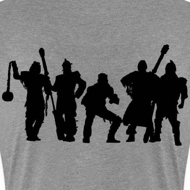 Jugger Schattenspieler schwarz