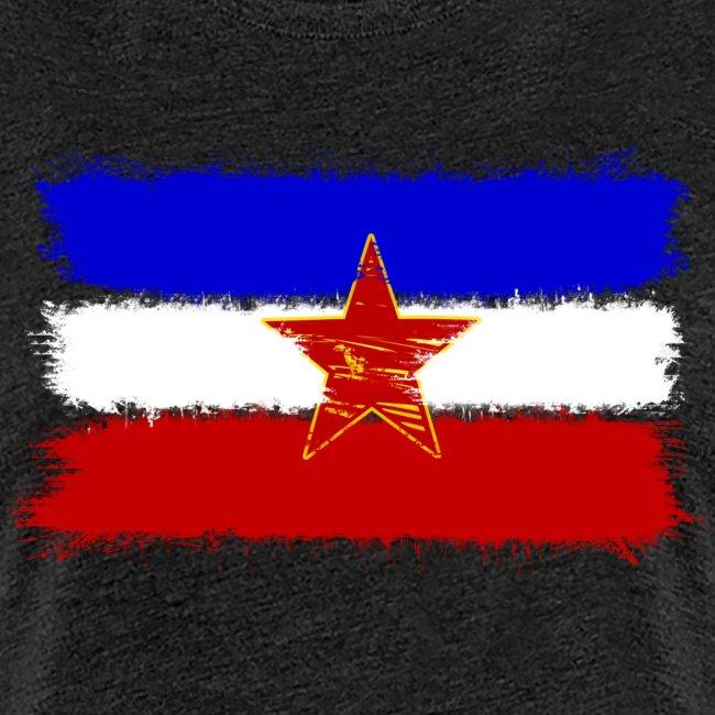 Jugoslawien Flagge