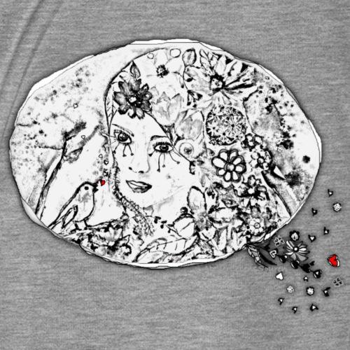 Blumenmädchen - Frauen Premium T-Shirt