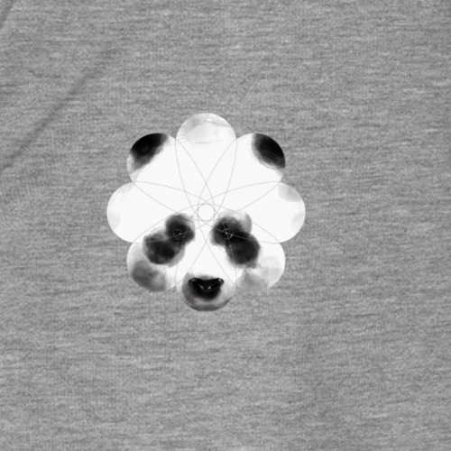 flower panda - Maglietta Premium da donna