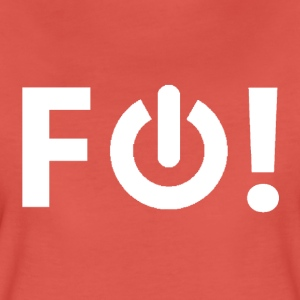 F Off! (white) - Women's Premium T-Shirt