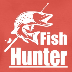 Fish Hunter - Fiske - Premium T-skjorte for kvinner