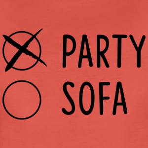 Party/Sofa - Frauen Premium T-Shirt