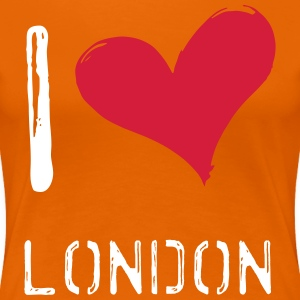 I love London - Women's Premium T-Shirt