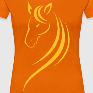HORSE'S HEAD - Women's Premium T-Shirt