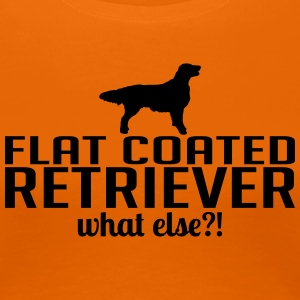 Flatcoated retriever whatelse - Vrouwen Premium T-shirt