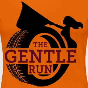 The Gentle Run - Vrouwen Premium T-shirt