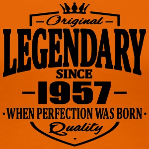 Legendary sedan 1957 - Premium-T-shirt dam