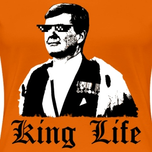 KING LIFE - Women's Premium T-Shirt