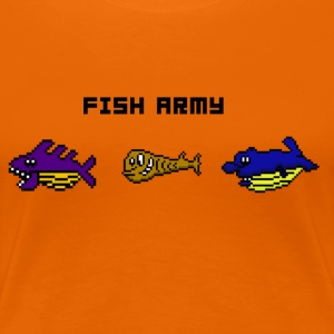 Fish Army - Premium T-skjorte for kvinner