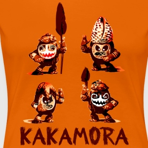 kakamora Coconut monstre pirater Sudsee film Crawling - Premium T-skjorte for kvinner