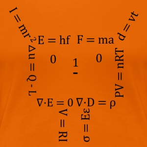 Human Equation corta - Camiseta premium mujer