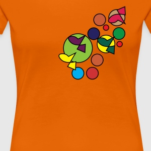 Abstract Design 007 - Women's Premium T-Shirt