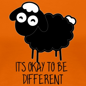 Sheep / Farm: It's Okay To Be Different - Women's Premium T-Shirt