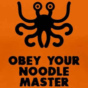 OBEY YOUR NOOLE MASTER - Women's Premium T-Shirt