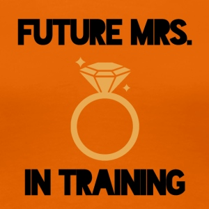 JGA / Bachelor: Future Mrs. in - Women's Premium T-Shirt