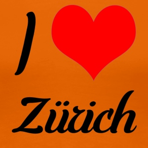 I love Zurich - Women's Premium T-Shirt