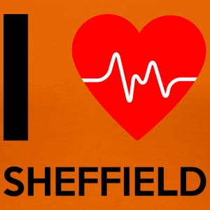 I Love Sheffield - Ich liebe Sheffield - Frauen Premium T-Shirt