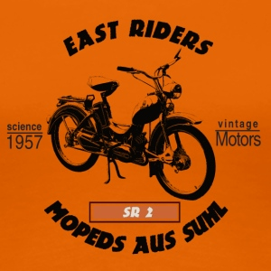 East Riders Mopeds from Suhl - Women's Premium T-Shirt