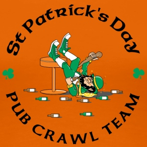 Irish Pub Crawl Team - Vrouwen Premium T-shirt