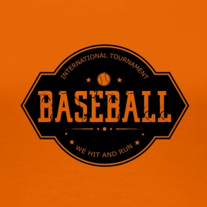 Baseball - Hit and Run - Premium-T-shirt dam