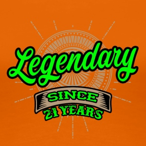 Legendary since 21 years t-shirt and hoodie - Women's Premium T-Shirt