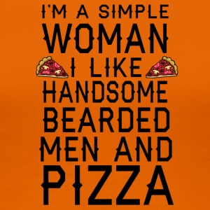 pizza - Frauen Premium T-Shirt
