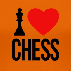 I LOVE CHESS - Women's Premium T-Shirt