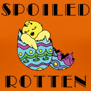 Easter Egg Spoiled Rotten - Women's Premium T-Shirt