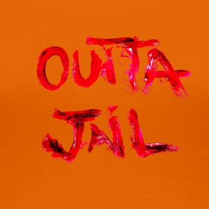 Outta Jail - Premium-T-shirt dam
