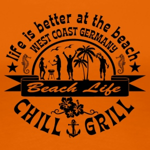 Chill Grill West Coast - Vrouwen Premium T-shirt
